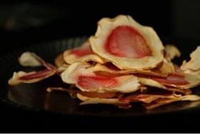 苹果草莓脆皮片