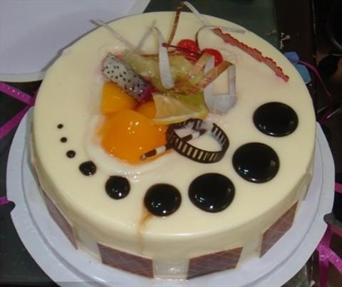 猪头&鱼diy蛋糕