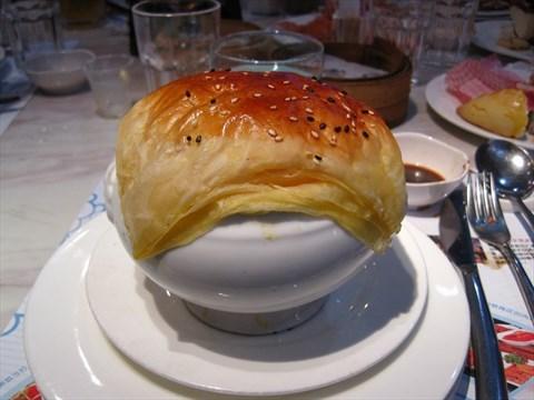 酥皮海鲜汤 - 东街口 的银鲨国际美食百汇)
