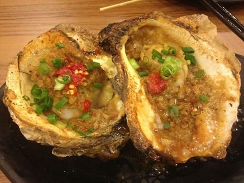 烤生蚝 - 大石坝的海平面小海鲜餐厅)