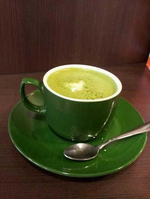 抹茶拿铁 - 小北的太平洋咖啡)